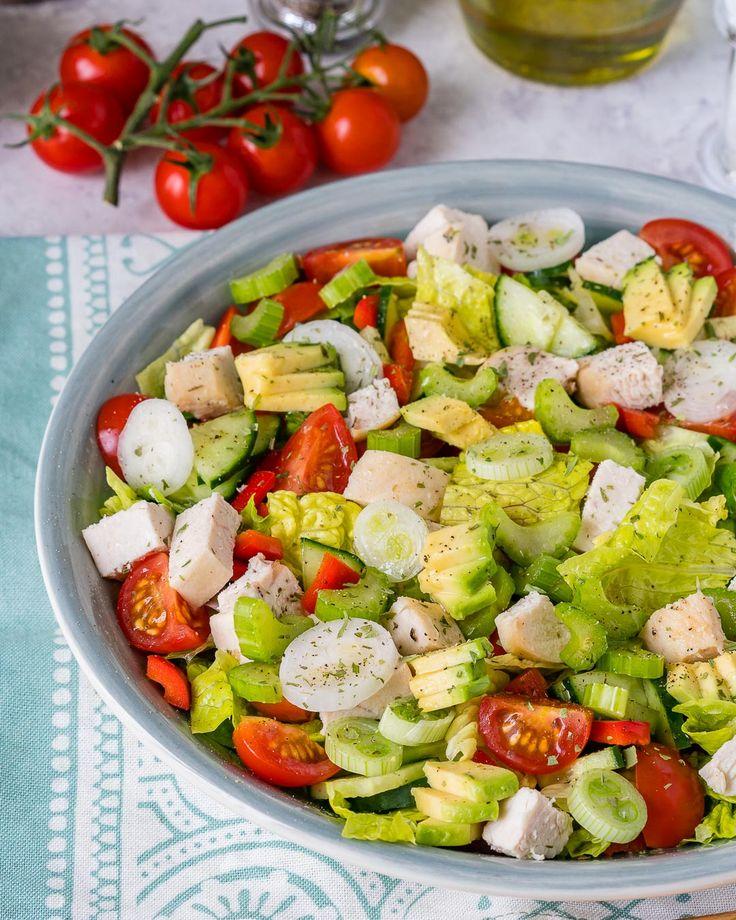 Super Fresh Clean Eating Chop-Chop Chicken Salad - Clean Food Crush
