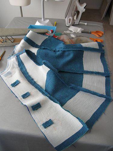 Avoca jacket inside with interfacings