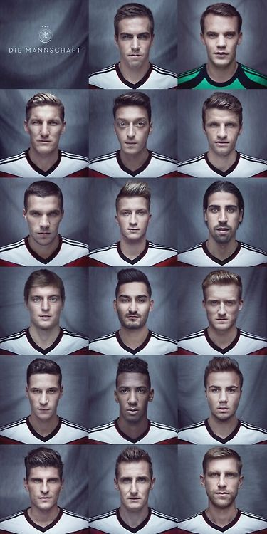 Die Mannschaft -- The Team! Congrats to Germany for an absolutely FABULOUS World Cup!
