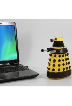 Doctor Who: USB Desk Protector: Yellow Dalek at BBC Shop