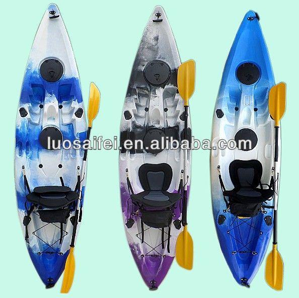 Single fishing kayak/ pvc fishing canoe for sale $100~$200