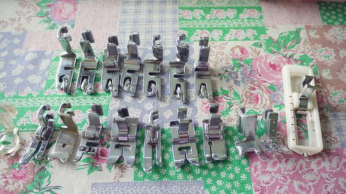 Sewing machine feet and how to use them #sewingdirectory