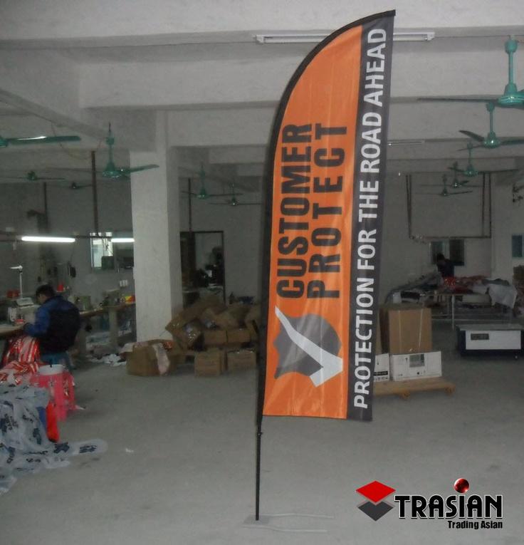Banderas para tus eventos empresariales en www.optimprint.com