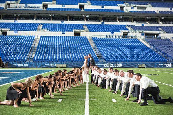 Football Wedding Theme Ideas - Unique Sports Wedding Ideas   Wedding Planning, Ideas & Etiquette   Bridal Guide Magazine