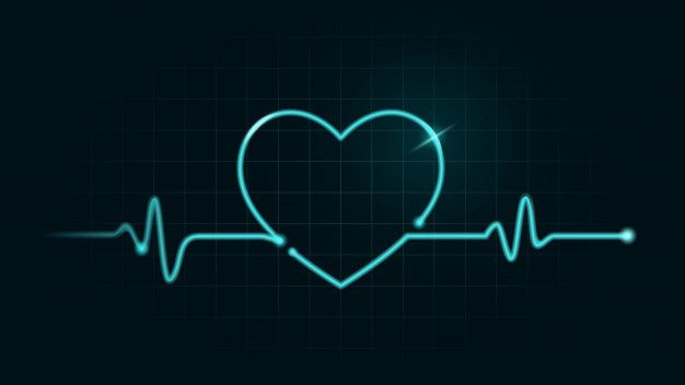 Digital Line On Green Chart Of Cardiogram Monitor Have Movement To Be Heart Shape Illustration About Pulse Rate And Health Concept Heart Shapes Heart Icons Neon Png