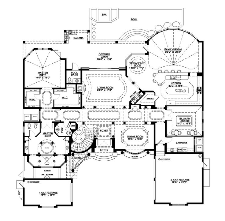 107 best House Plans images on Pinterest House floor plans