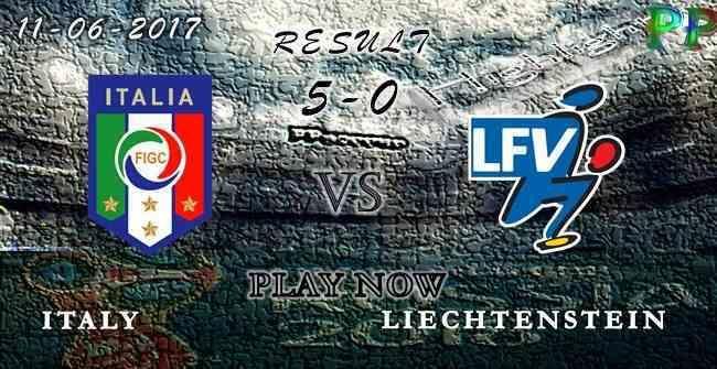 Italy 5 - 0 Liechtenstein HIGHLIGHTS 11.06.2017