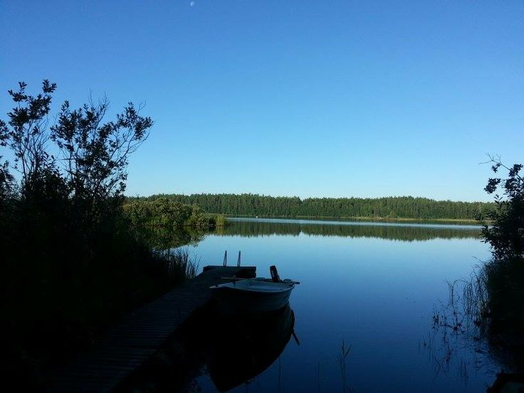 Idylle pur auf einer einsamen Insel nähe Mikkeli Foto: Anja Oelke