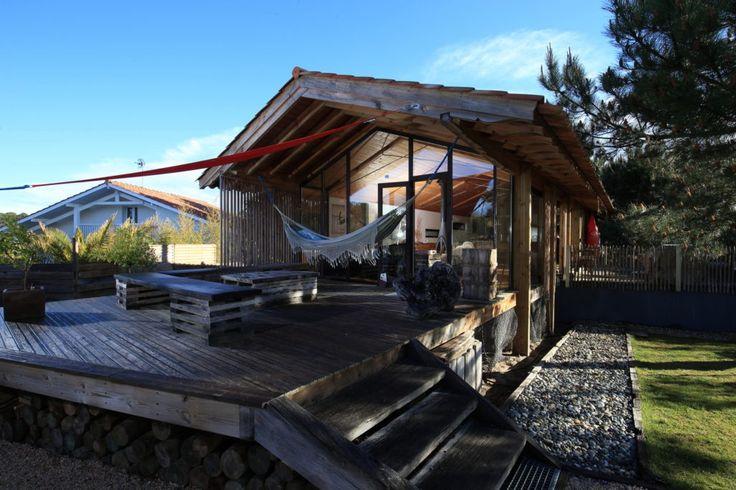Les 25 meilleures id es concernant cabane de plage sur - Bureau de reve pour les amoureux du velo ...