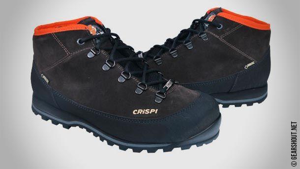 Crispi расширила линейку ботинок Monaco новой облегчённой версией Monaco Light GTX