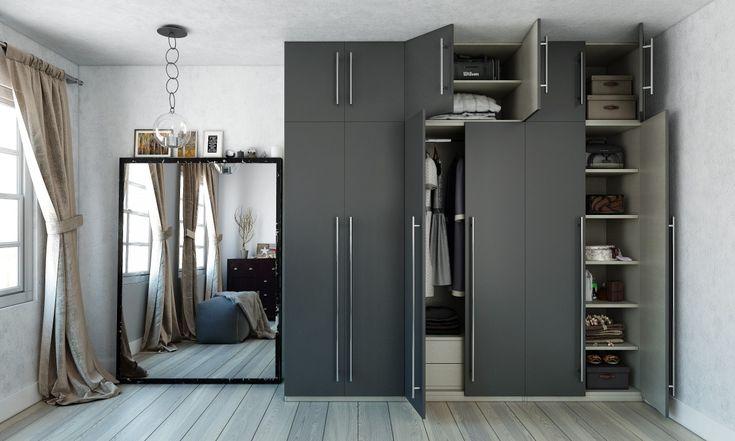 Scandinavian Minimalist Wardrobe For Smart Storage