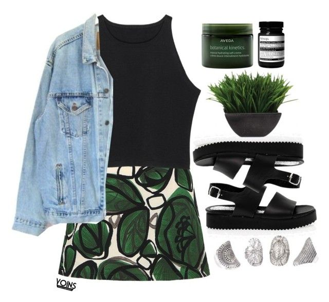 """""""#Yoins"""" by credentovideos ❤ liked on Polyvore featuring Levi's, San Crispino, Lux-Art Silks, Aveda and Aesop"""