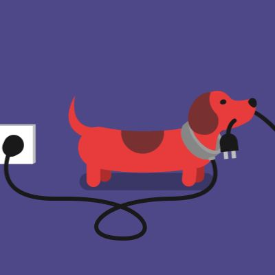 Cute animated looping gifs Power Walk | James Curran
