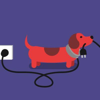 Cute animated looping gifs Power Walk | James Curran