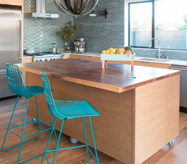 Oltre 25 fantastiche idee su Cucina isola su ruote su Pinterest ...