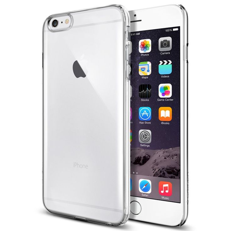 iPhone 6 Plus Case, Spigen® [Perfect-Fit] iPhone 6 Plus (5.5) Case Slim **NEW** [Fit Series] [Thin Fit] [Crystal Clear] Premium Clear Hard Case with - ECO-Friendly Packaging - Slim Case for iPhone 6 Plus (5.5) (2014) - Crystal Clear (SGP10885): Buy iPhone 6 Plus Case, Spigen® [Perfect-Fit] iPhone 6 Plus (5.5) Case Slim **NEW** [Fit Series] [Thin Fit] [Crystal Clear] Premium Clear Hard Case with - ECO-Friendly Packaging - Slim Case for iPhone 6 Plus (5.5) (2014) - Crystal Clear (SGP10885) ...