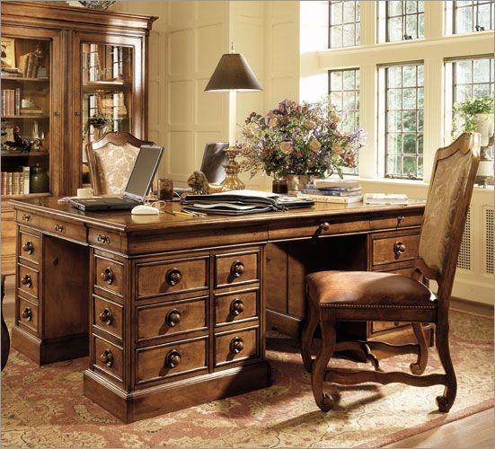 Buy Stanley Furniture Provincia 74u2033 W Triology Partners Desk Online  Confidently   Office   Pinterest   Partners Desk, Desks Online And Stanley  Furniture