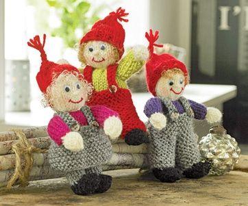 De er da ikke til at stå for disse små, strikkede nisser med glade ansigter og tøj, der kan tages af og på