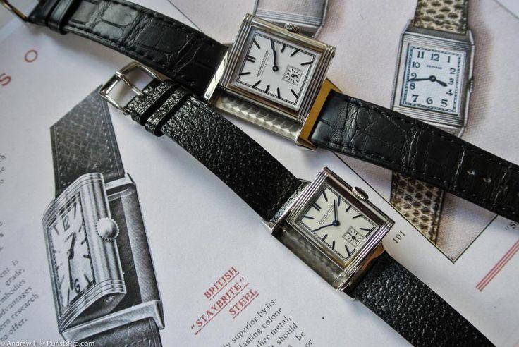 JLC - Style Endures! Grande Reverso Ultra Thin 1948: Fabrique en Suisse by Jaeger LeCoultre.