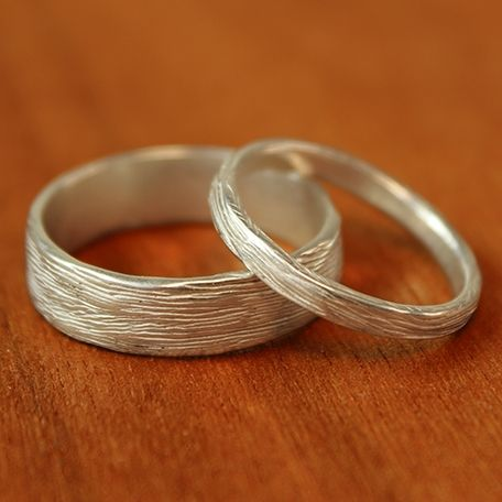 Narrow Branch Wedding Band | Handmade Wedding Rings | Turtle Love Co. Jewelry.  Sterling Silver, Andy approved!
