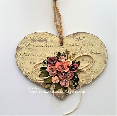Mrs. B's Crafting Addiction: Hearts and Flowers at Try it on Tuesday