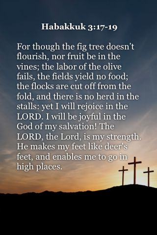 Habakkuk 3:17-19