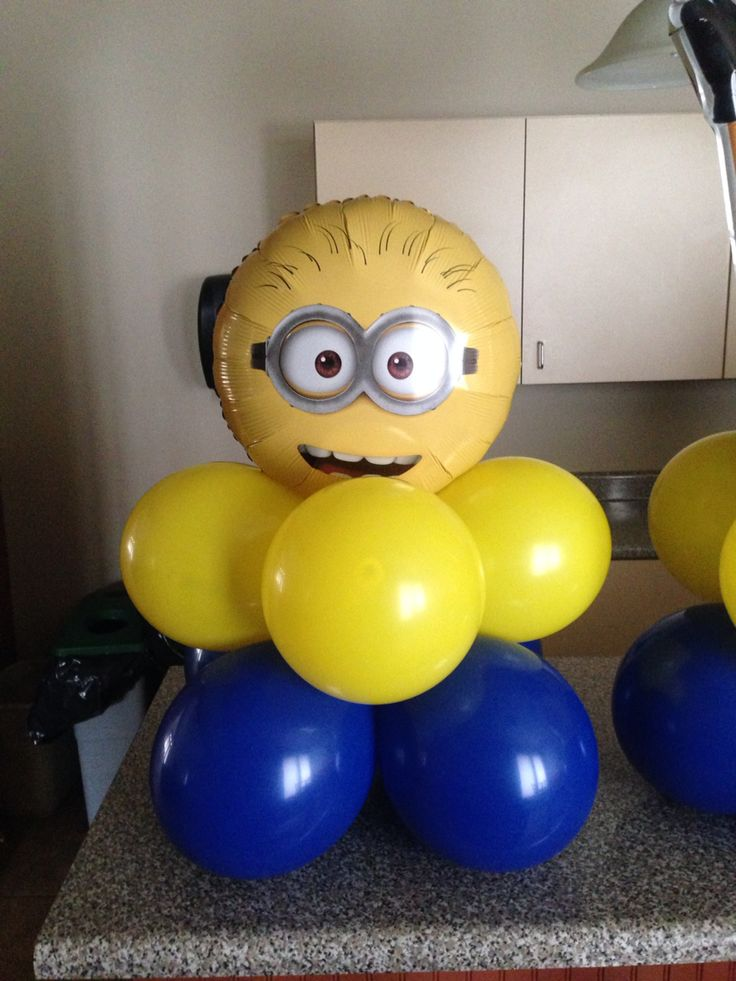 Best 20 Minion Balloons Ideas On Pinterest Minions Birthday Theme Minions