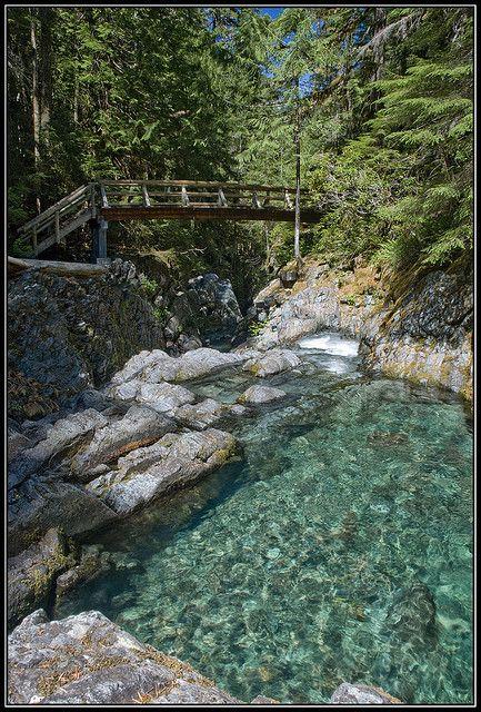 Opal Pool - Opal Creek by mnt_goat_76, via Flickr