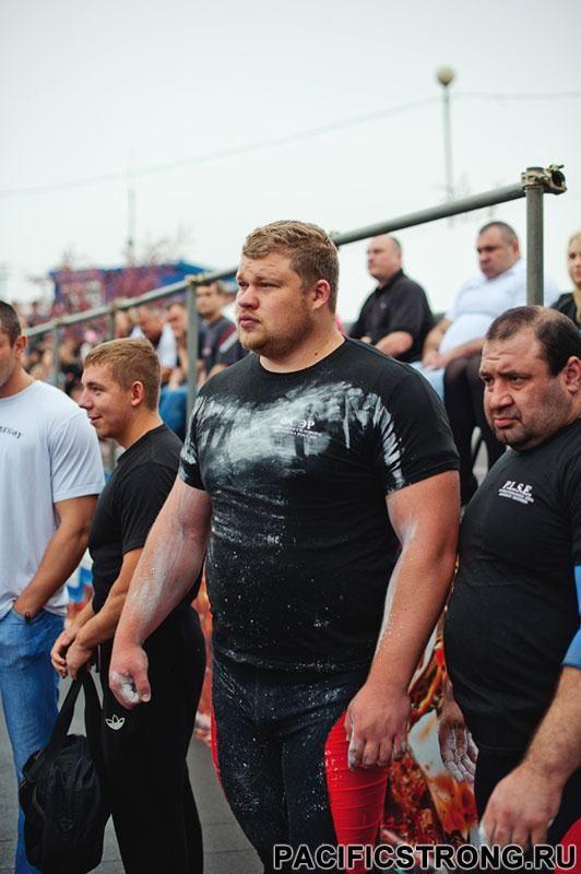 Russian Strongman, Alexander Lysenko