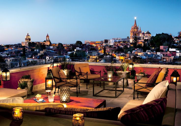 ROSEWOOD SAN MIGUEL DE ALLENDE I believe I'll be staying here one week from today!