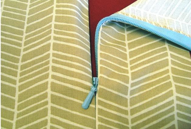 Various ways to sew zippers
