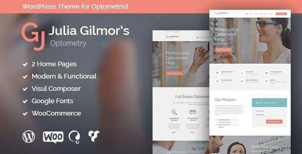 Optometry Optician Optics Store Medical Wordpress Theme Modern Optometry Optician Optics Store Wordpress Theme V 1 In 2020 Optometry Optician Wordpress Theme