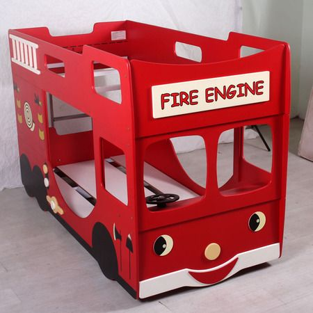 Wooden fire truck bed plans woodworking projects plans - Fire engine bed plans ...