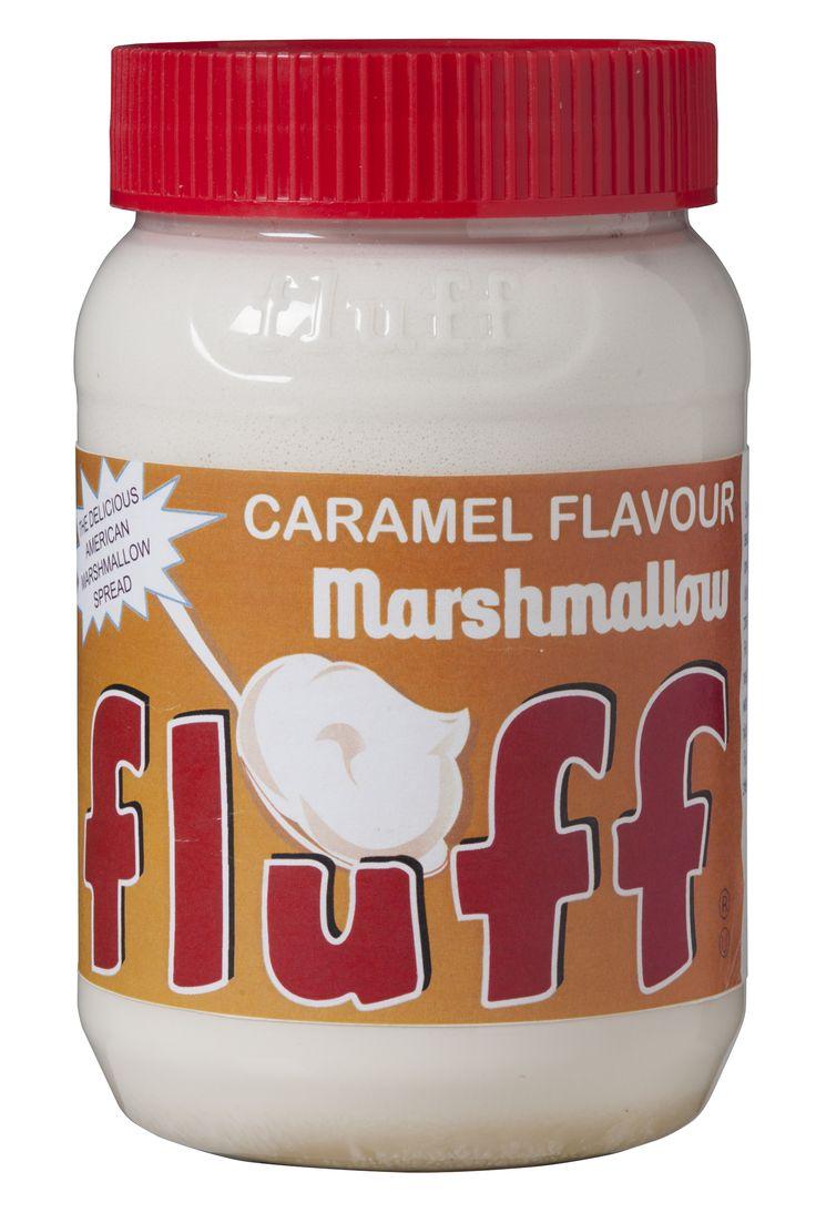 La célèbre pâte à marshmallow américaine FLUFF existe maintenant goût caramel !   Disponible en grande distribution et à Lafayette Gourmet