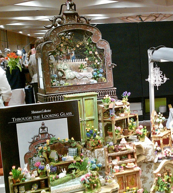 Dollhouse Miniatures Chicago: 2014 Chicago Intl Miniature Show This Beautiful Scene In A