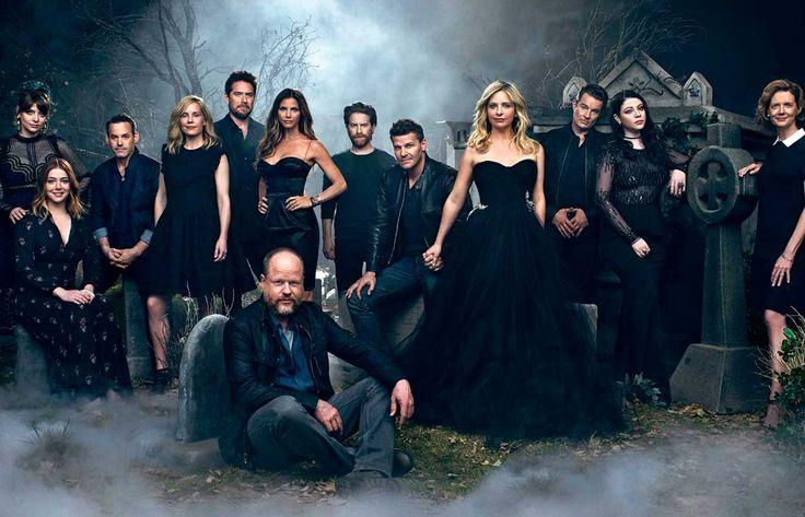Звезды сериала «Баффи — истребительница вампиров» снялись в совместной фотосессии