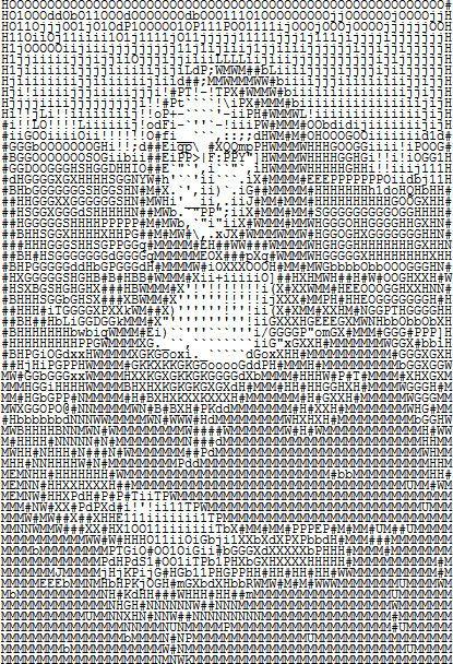 Ascii Lisa Though There Are Hundreds Of Ascii Art Mona -1412