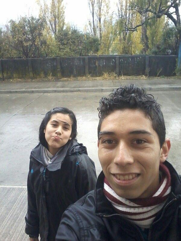 con el amigo