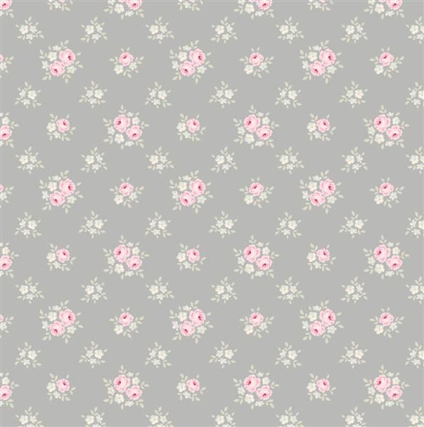 Tilda Corner Shop Fat Quarter Fabric - Jane Bluegrey