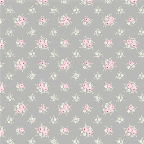 Tilda Corner Shop Fat Quarter Fabric - Jane Bluegrey