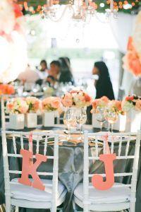 Peach wedding inspiratoin