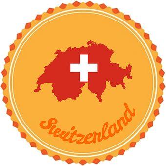 Abzeichen, Flair, Schweiz, Flagge