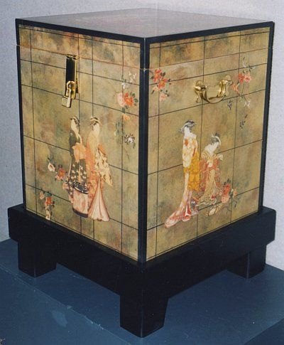 17 best images about decoupage on pinterest mirror glass for Japanese furniture brisbane