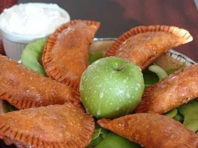 Caramel apple empanadas. See ya taco bell. Nom Nom Nom