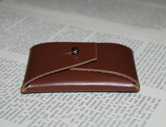 Leather Purse Leather Coin Purse Brown Leather Coin Purse