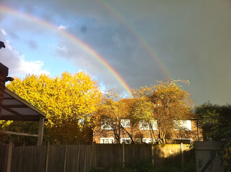 Canning Town Rainbows photograph by tom booker