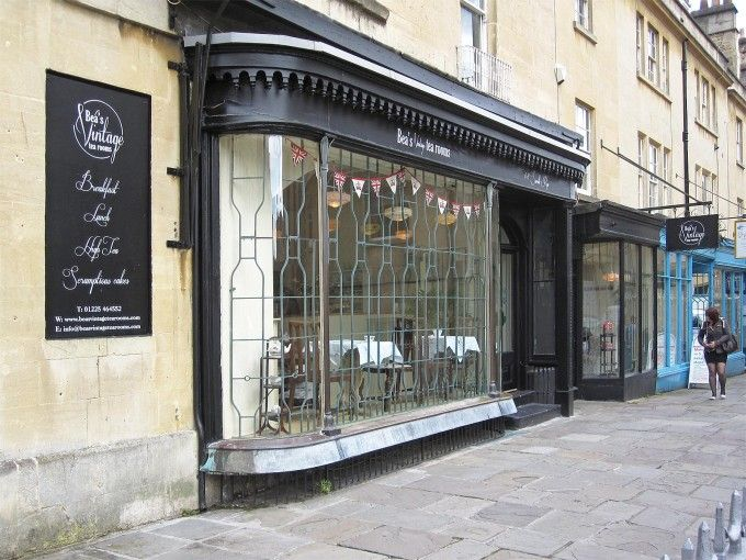 For quintessential British tea, head to Bea's Vintage Tea Rooms - Bath, England