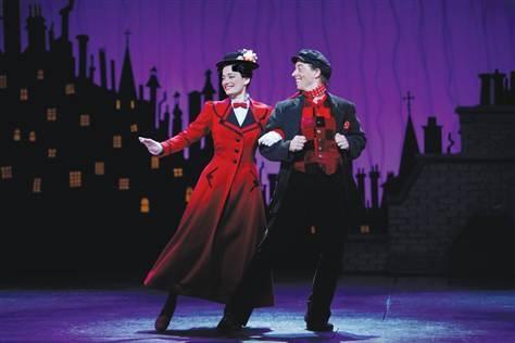 """""""Mary Poppins"""" on Broadway. I want to go to this sooooo  bad!"""
