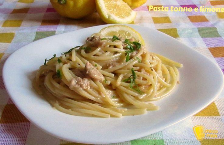 Come preparare la pasta con tonno e limone, primo veloce e gustoso, con tutti i segreti per un piatto cremoso e ben mantecato