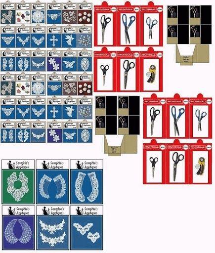 miniature sewing supplies